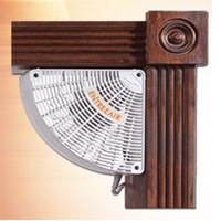 door frame fan